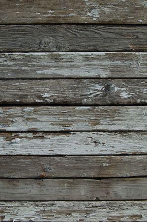 高齢者の古い着用の塗られた木の板の背景