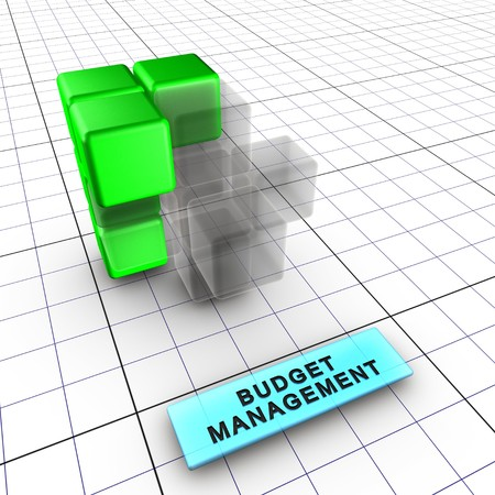 Budget, quality, performance and shedule managements integrate risk management (identification, analysis, tracking, control). Risk management is integral to project management.6 figures depict risk management process and interactions: 1-Integrated risk ma Stock Photo - 7444320