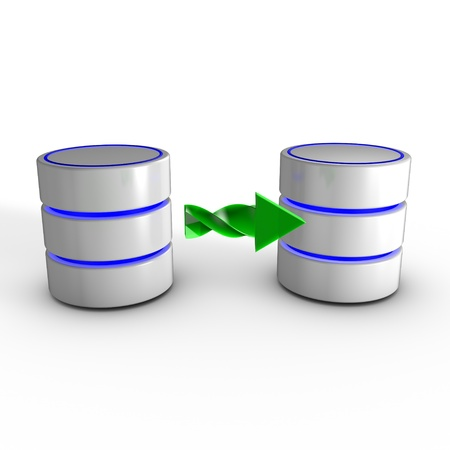 Extract, transform, and load (ETL) is a process in database usage that consists in: Extracting data from outside sources, Transforming it to fit operational needs, Loading it into the end target (database or data warehouse) 写真素材