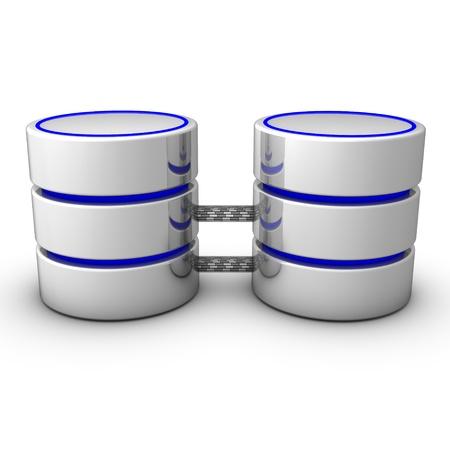 Database mirroring increases database availability. Stock Photo - 9058029