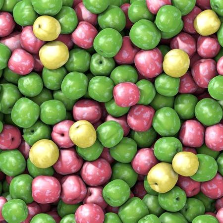 excalibur: Three varieties of fresh plums