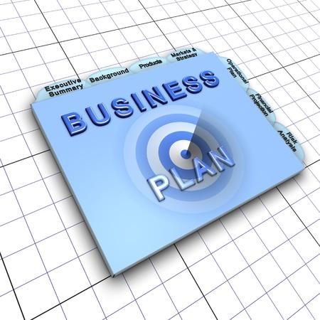 target thinking: Documento de plan de negocios: proceso de planear con antelaci�n para el �xito