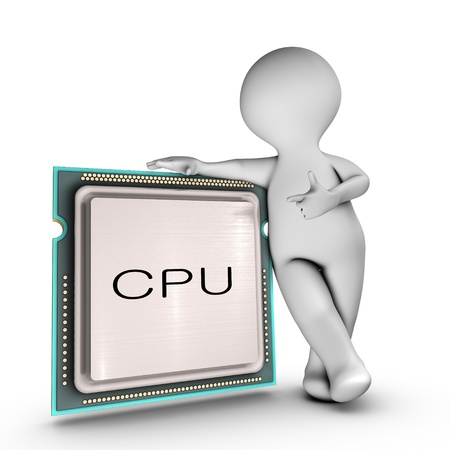 A character relies on a powerful CPU  Central processing unit  photo