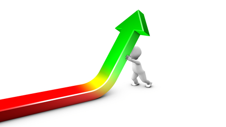 rectify: Faccia a una crisi, un personaggio viene raddrizzando la curva finanziaria