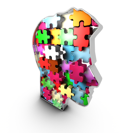 stimuli: The infrastructure of the human head is like a brick assembly whose interconnections give rise to the thought