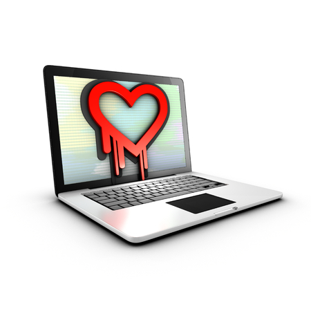The Heartbleed Bug is a vulnerability in cryptographic software library photo