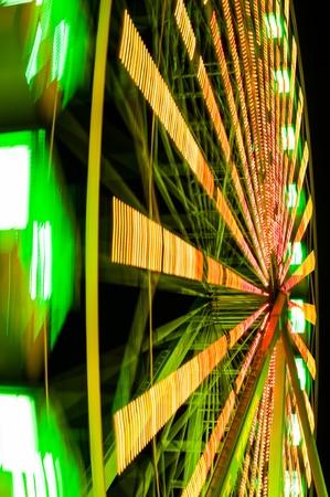 wheel spin: Spin of ferris wheel