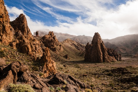 vulcanology: Rocky Cathedral of Teide