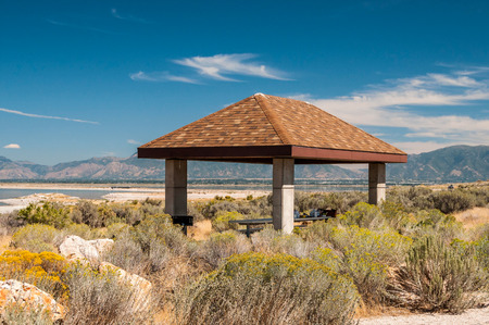 Picture of place for rest in Antelope Island SP, Salt Lake City, UT. photo