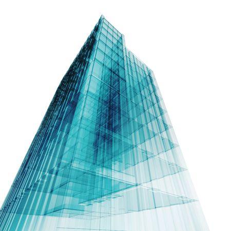 rascacielos: Concepto de oficina. Mi proyecto arquitect�nico de concepto personal Foto de archivo