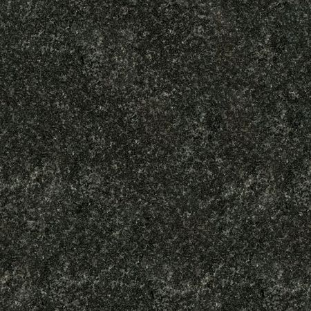 Seamless black granite texture. Close-up photo photo