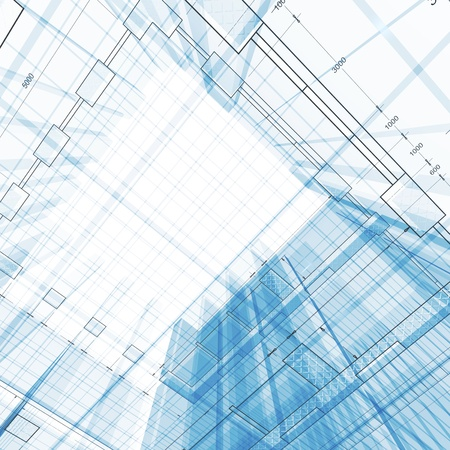 architecture plans: Architecture engineering concept Stock Photo