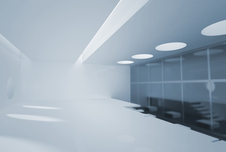Business interior. No copyrights - my concept project, not real interior photo