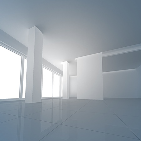penthouse: Empty interior. No copyrights, my design project