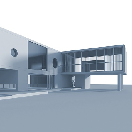 copyrights: Modern building. No copyrights, my architecture project