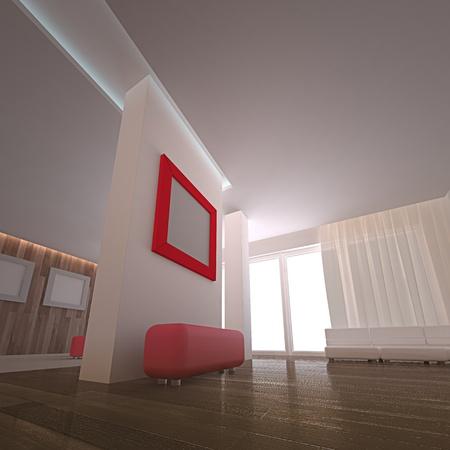 Concept interior. Stock Photo - 9034350