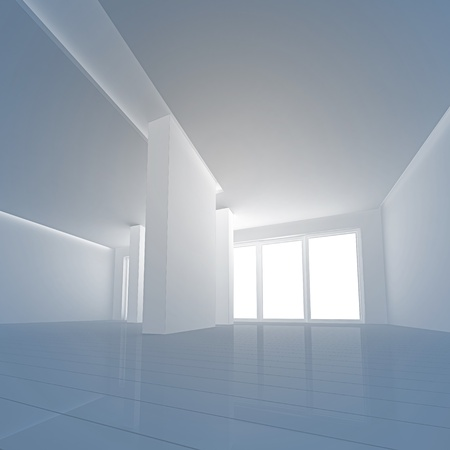 copyrights: Interior angle view. No copyrights, my design project Stock Photo
