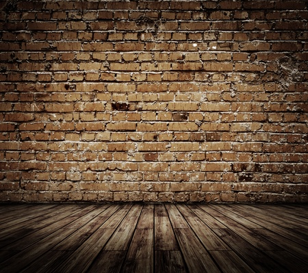 Vintage brickwall. All textures my own Stock Photo - 12284970