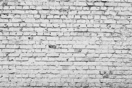 Bricks texture. Interior aged brickwall photo