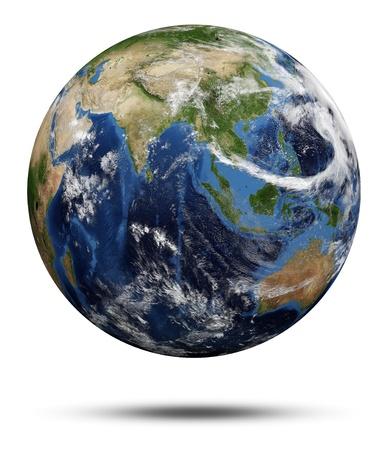 Planet Earth  Earth globe 3d render Imagens