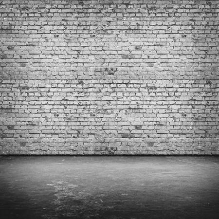 Grigio muro di mattoni. Tutte le texture mia Archivio Fotografico - 14916079