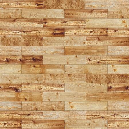 Wood seamless yellow parquet texture Imagens
