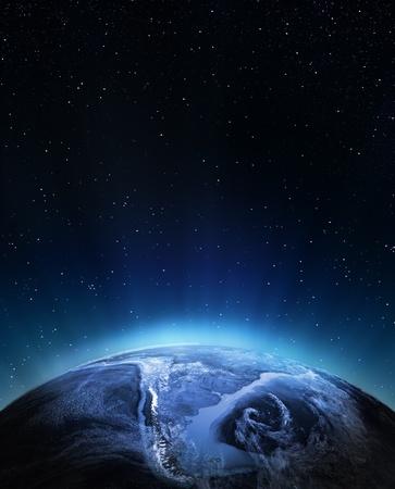 Zuid-Amerika Elementen van deze afbeelding geleverd door NASA