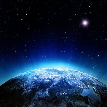 Wolken Atmosphäre aus dem Weltraum Elemente dieses Bildes eingerichtet Lizenzfreie Bilder