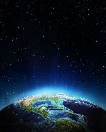 Zentralamerika Elemente dieses Bildes von der NASA eingerichtet