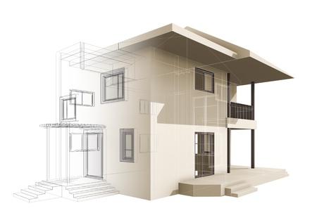 Cottage  High quality 3d render