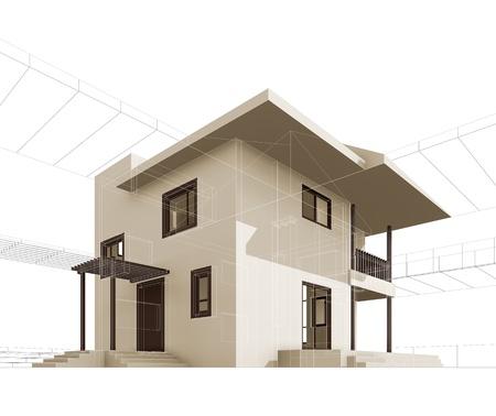 render: Cottage  High quality 3d render