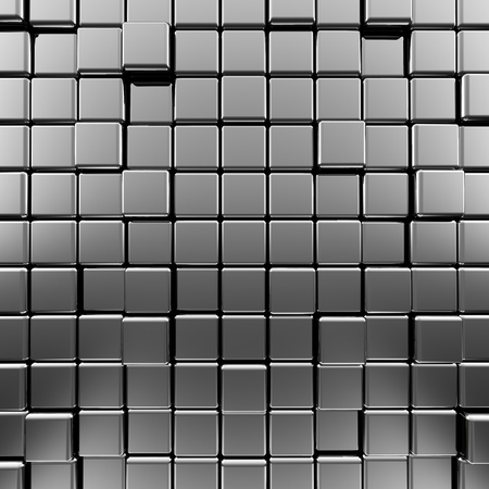 Metallic background Hochwertige 3d render