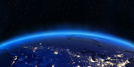 New Map Of The Earths Night Lights GIS Lounge Night Satellite - Us map night