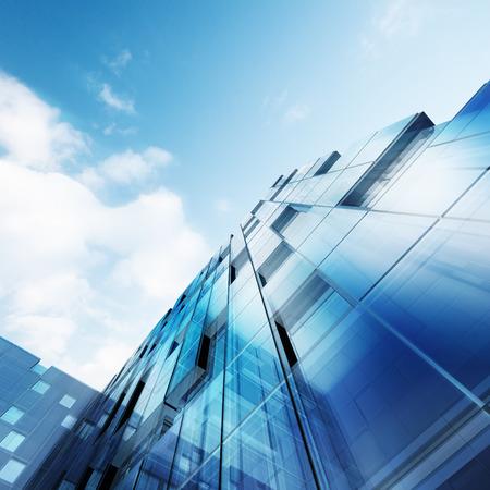 Concept extérieur. La conception des bâtiments et modèle 3d ma propre Banque d'images - 24173004