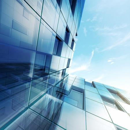 Konzept außen. Gebäude-Design und 3D-Modell meiner eigenen