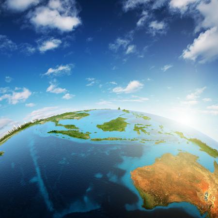 southeast asia: Australia and South-East Asia.