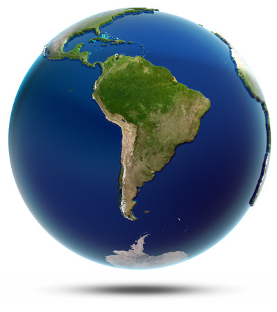 south space: Planet Earth - South America