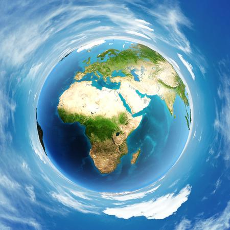 World atmosphere day globe. Standard-Bild