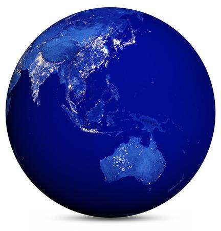Earth globe.