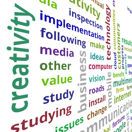 clear strategy: Business value concept text data illustration Stock Photo