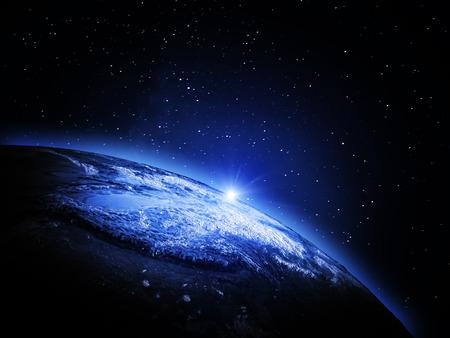 Země z vesmíru Reklamní fotografie