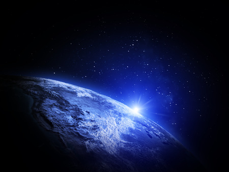 earth space: World from space