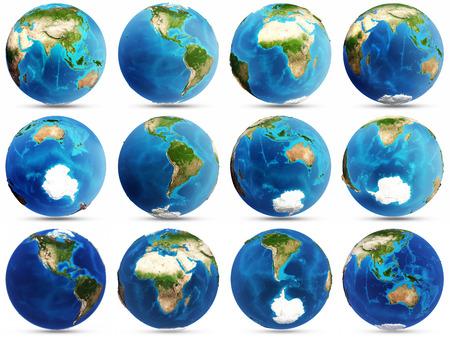 지구 세트