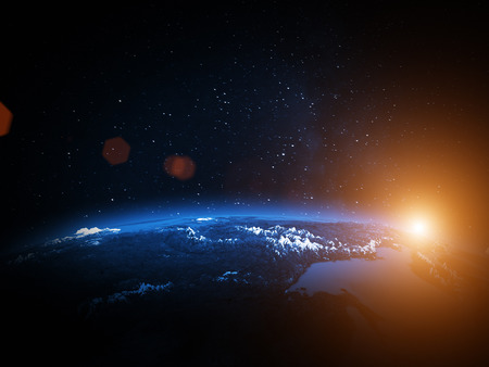 passages: Planet Earth Stock Photo