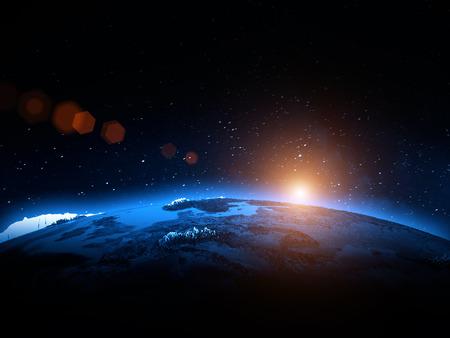 földgolyó: Világ világ Stock fotó