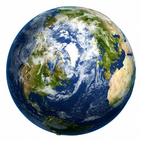 globo terraqueo: Planeta tierra Foto de archivo