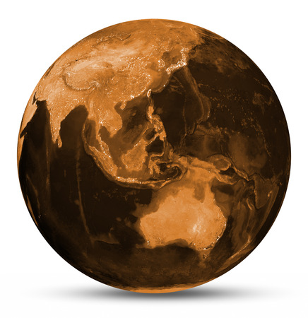 passages: Earth orange map. Elements of this image furnished by NASA Stock Photo