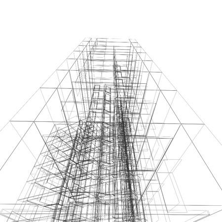 Architektur Design Und Modell Mein Eigenes Photo