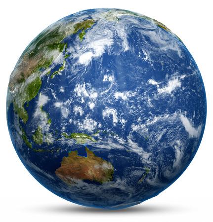 La planète Terre. Éléments de cette image Banque d'images - 39057636