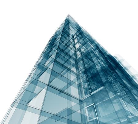 Modernes Gebäude. Architektur Design Und Modell Meiner Eigenen Photo